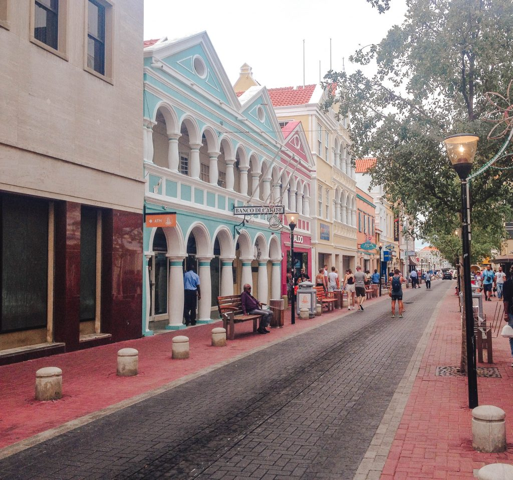 Curacao colourful streets