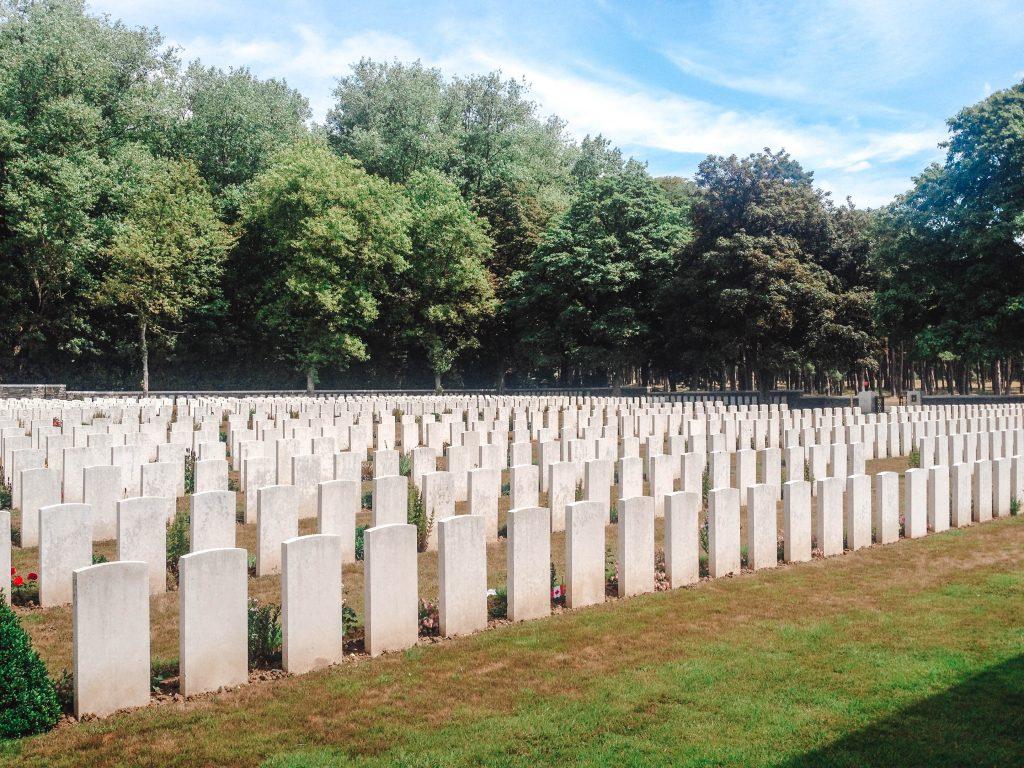vimy ridge memorial cemetery