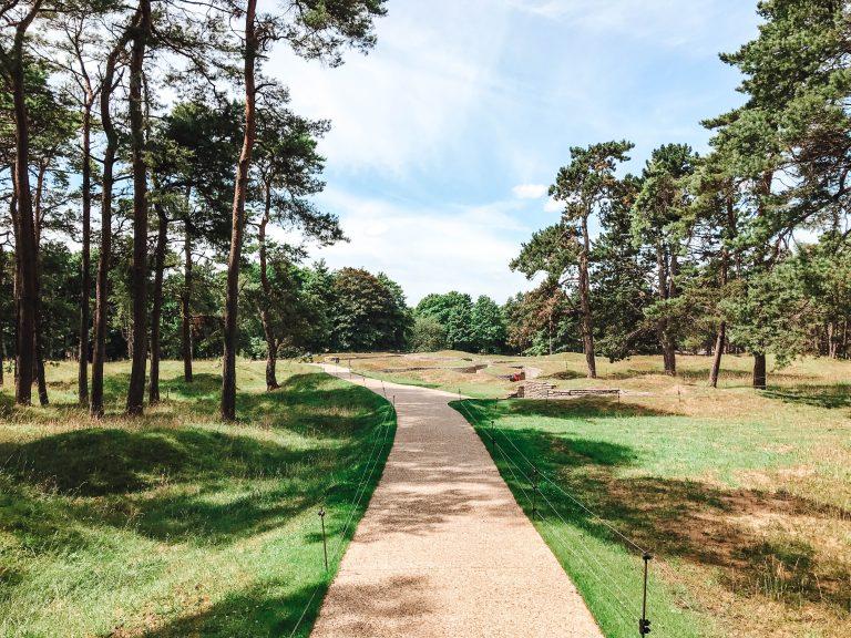 vimy ridge memorial path
