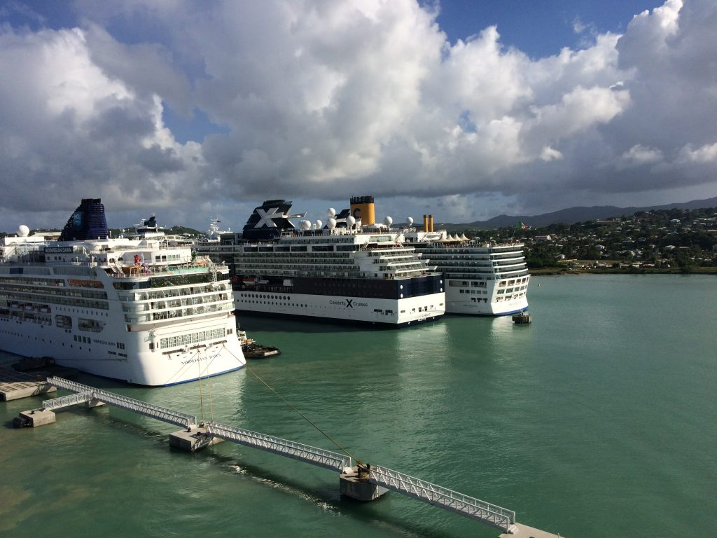 cruise port antigua