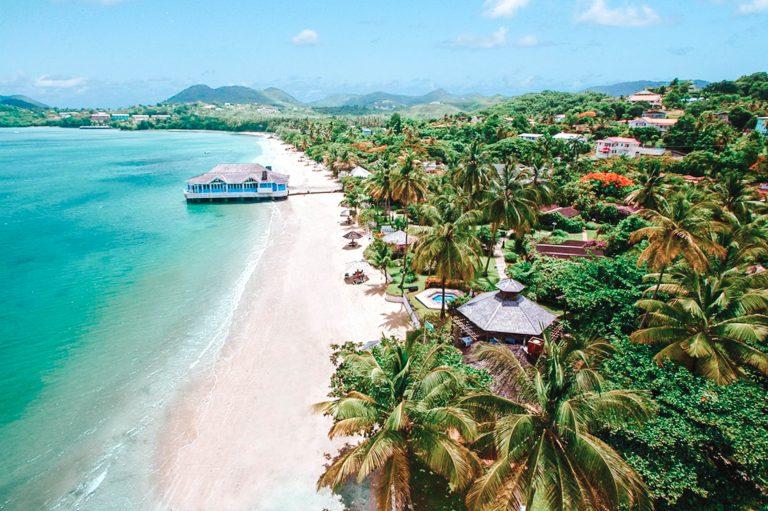 Halcyon Beach St. Lucia