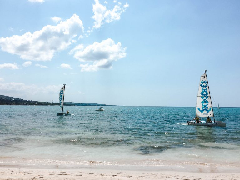 Sandals Jamaica South Coast hobie cats water