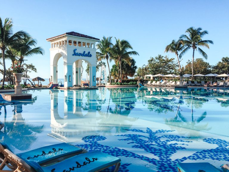 Sandals Jamaica South Coast pool
