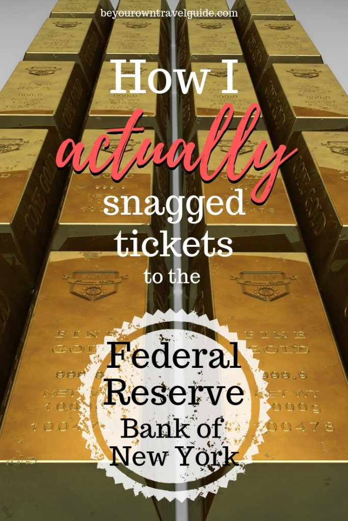 federal reserve tickets