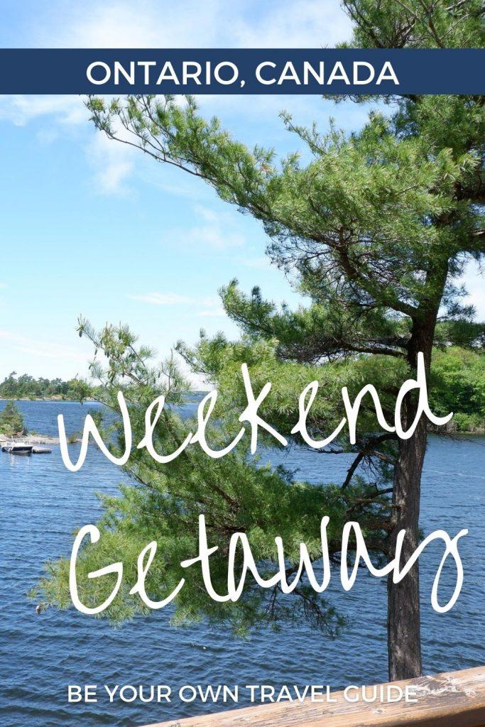 summer weekend getaway ontario