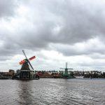 Windmill Canal Zaanse Schans