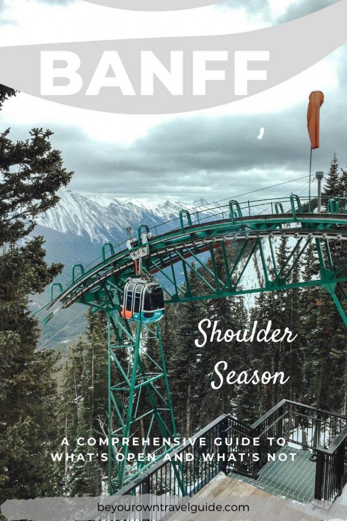 Banff in the Shoulder Season